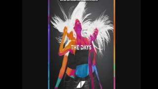 Avicii the days istrument