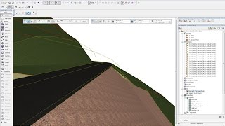 getlinkyoutube.com-ARCHICAD ROAD DESIGN ADVANCED PART 1 (MODELING THE EMBANKMENTS)