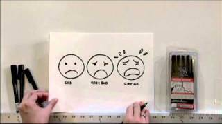 Drawing Basic Faces & Emotion with Deb Aoki