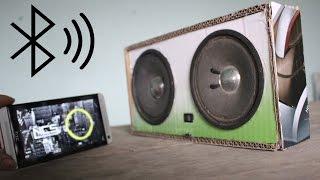 getlinkyoutube.com-Como fazer um alto falantes Bluetooth com papelão