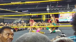 getlinkyoutube.com-NXT Asuka vr Peyton Royce at wrestlemania 32 party in Dallas TX