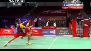 getlinkyoutube.com-Sudirman Cup 2013 - Cai Yun / Fu Haifeng vs Hendra Setiawan / Angga Pratama