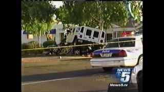 getlinkyoutube.com-H1 Hummer Crash with Honda Accord