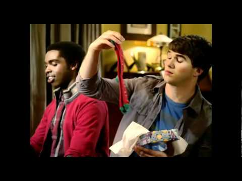Ryan Newman ft. Adam Hicks - Happy Universal Holidays Music Video - Zeke and Luther