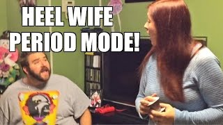 getlinkyoutube.com-HEEL WIFE RAGES RUINS GRIMS PIE FACE GAME!