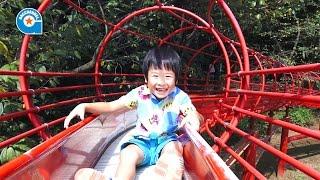 getlinkyoutube.com-アンデルセン公園で遊びました【がっちゃん】アスレチック