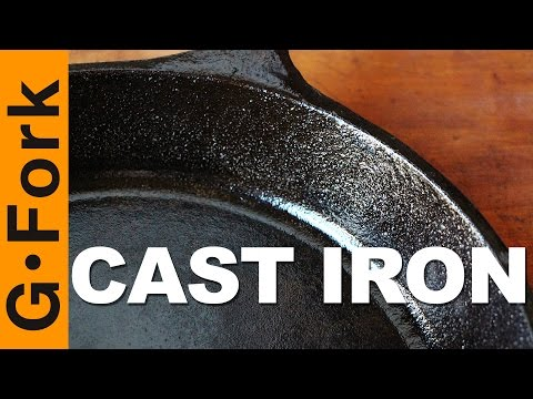 Simple Cast Iron Care & Seasoning - GardenFork