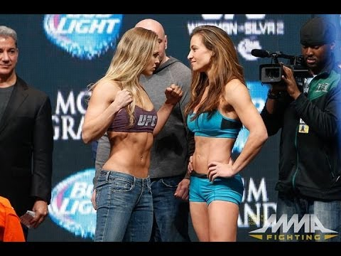 UFC 168 Weigh-Ins: Ronda Rousey vs. Miesha Tate 2