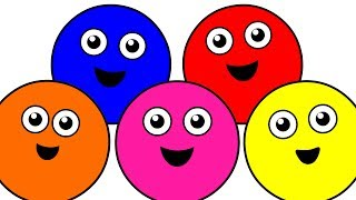 "getlinkyoutube.com-""Color Songs Collection Vol. 1"" - Learn Colors, Teach Colours, Baby Toddler Preschool Nursery Rhymes"