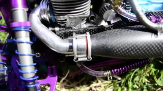 getlinkyoutube.com-Overview of $4,000+ HPI Savage w/ Novarossi, onboard telemetry, all carbon fiber, titanium or alloy