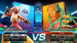 getlinkyoutube.com-Pokken Tournament: BadIntent (Blaziken) vs TeeJay (Sceptile) First to 10