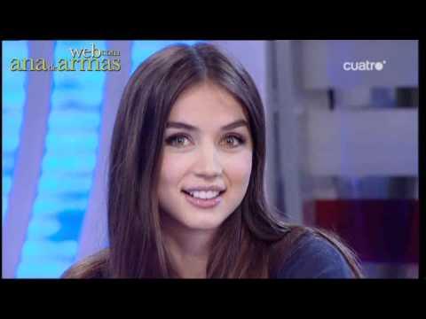 Ana de Armas. El hormiguero (04/10/10) - Parte 1