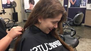 getlinkyoutube.com-Donating14 inches of my hair to Locks of Love