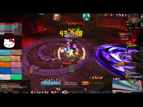Garrosh Hellscream - 10 man heroic - Fire Mage PoV