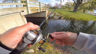 getlinkyoutube.com-Mini Bass Rod Challenge FAIL