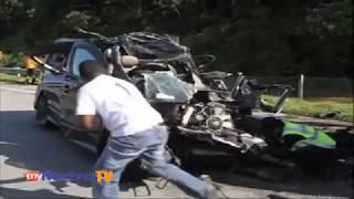 getlinkyoutube.com-Lima maut kemalangan ngeri Mpv dan lori