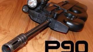 getlinkyoutube.com-FN P90 (PS90) Replica .22LR MOD Fun-N-Gun Shooting