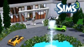 getlinkyoutube.com-Sims 3: House Builds - A Modern Mansion