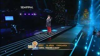 getlinkyoutube.com-| Eddy Valenzuela | - VOLVER A AMAR - Cristian Castro - Academia Kids