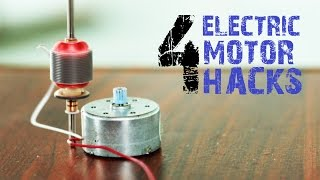 getlinkyoutube.com-4 creative things from Electric Motors that you may not  know
