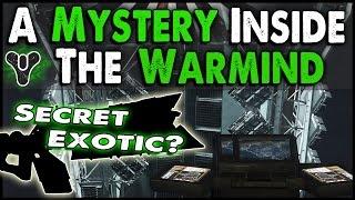 getlinkyoutube.com-Destiny: A Mystery Inside the Warmind   Secret Room Underneath Rasputin Found!