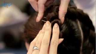 オランダ国立バレエのヘアメイク講座の画像