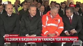 Ahmet Davutoğlu ve Binali Yıldırım Arasında Koltuk Krizi