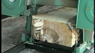 getlinkyoutube.com-Стрічкопильна лісорама TTM 800