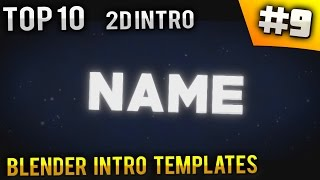 getlinkyoutube.com-TOP 10 Blender 2D intro templates #9 (Free Download)