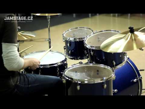 Pearl Export Drumset - Electric Blue Sparkle