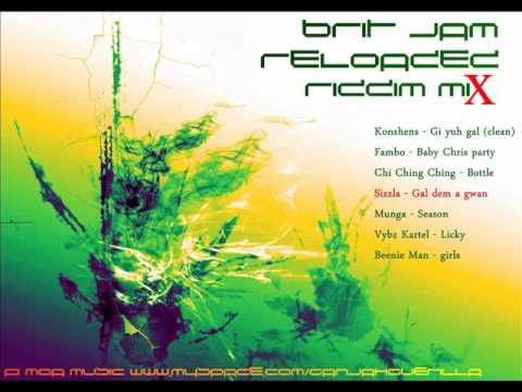Brit Jam Reloaded Riddim Mix [January 2012] [Good Good Production]