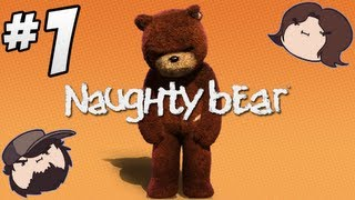 getlinkyoutube.com-Naughty Bear: Bad Teddy - PART 1 - Game Grumps