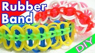 ファンルームがなくても出来る!ペン3本で作るシリコンバンドブレスレッド 【DIY:Rubber Band Bracelets】