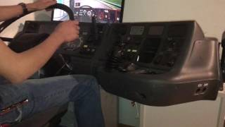 getlinkyoutube.com-Scania ets2 Real Cockpit