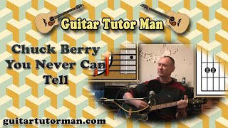 You Never Can Tell - Chuck Berry - Acoustic Guitar Lesson (easy)