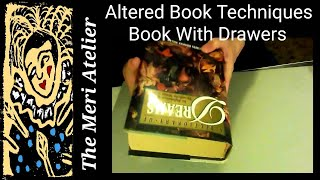 getlinkyoutube.com-Altered Book with Drawers, Some Techniques