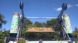 getlinkyoutube.com-King Chaos off-ride HD POV Six Flags Great America