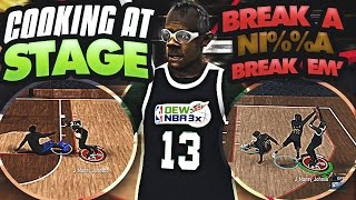 COOKIN' AT STAGE ! 🔥 | BREAKING THEY ANKLES ! 😱| NBA 2K17 STAGE