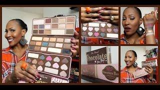 "getlinkyoutube.com-""NEW"" Too Faced Chocolate Bon Bons Palette + First Impression & Comparison"