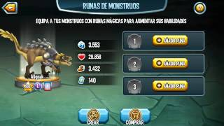 Monster Legends - Killeraptor (Nivel 1 al 100)