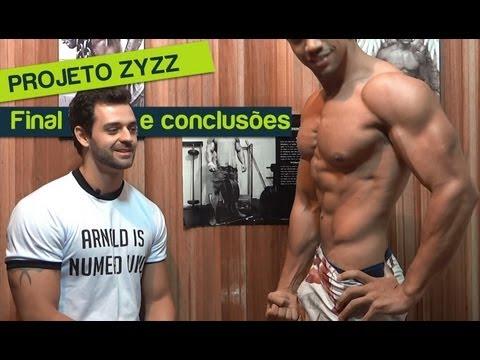 Projeto Zyzz (Final) e Treinamento 2ª etapa (secagem)