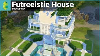 getlinkyoutube.com-The Sims 4 House Building - Futreeistic House