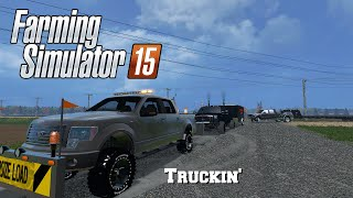 getlinkyoutube.com-Farming Simulator 2015: Mod Spotlight #70: Truckin'