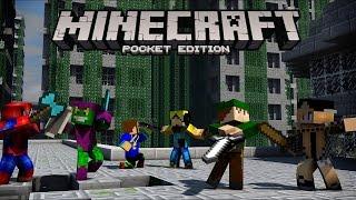 getlinkyoutube.com-Minecraft PE 0.12.1 - Server de PvP Igual de PC !!