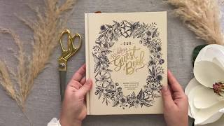 The Interactive Wedding Guest Book By Lily & Val
