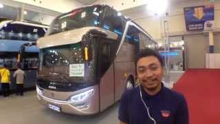 getlinkyoutube.com-Review singkat Adi Putro JETBUS 2+ SHD (Super High Decker) On GIIAS 2015