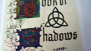 getlinkyoutube.com-Charmed Book of Shadows flip through: 700 pages