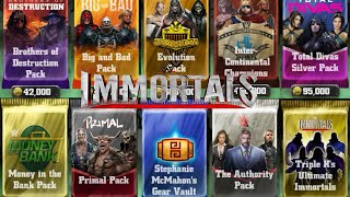 getlinkyoutube.com-WWE IMMORTALS - Patch 2.0 HUGE NEW BOOSTER PACK OPENINGS!!!!!!