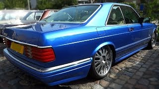 Mercedes 500 SEC V8 Sound W126