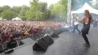 getlinkyoutube.com-Veil Of Maya - Crawl Back (Live at Heavy MTL 2015)